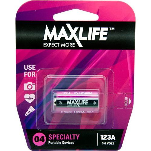 Maxlife Lithium 3 Volt Single Battery