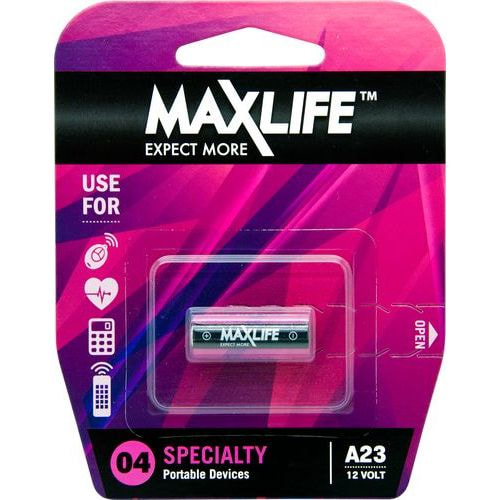 Maxlife Alkaline 12v Single Battery